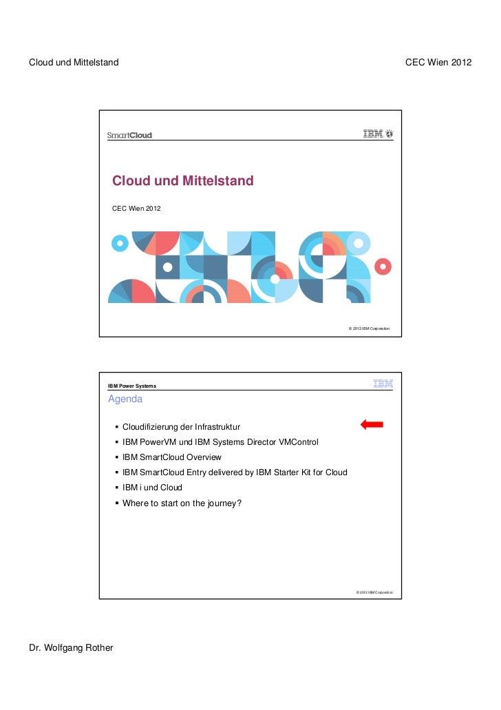 Cloud und Mittelstand                                                                                              CEC Wie...