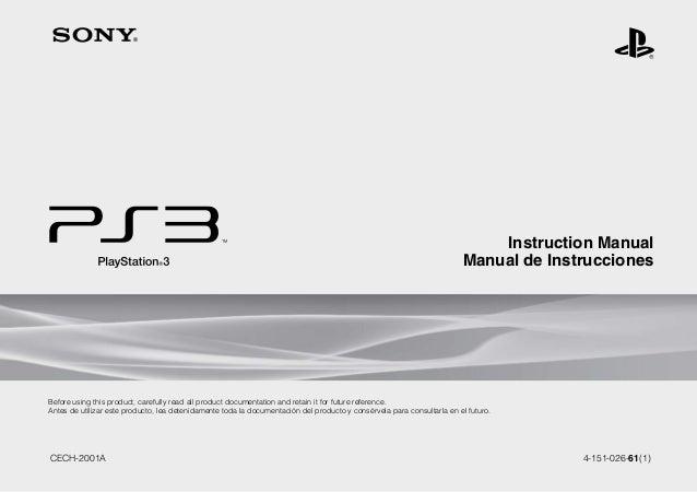 manual play station 3 rh slideshare net manual de usuario playstation 3 super slim How Made PlayStation 3 Manual