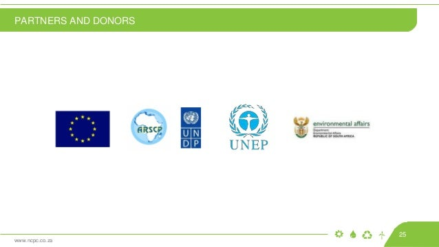 www.ncpc.co.za PARTNERS AND DONORS 25