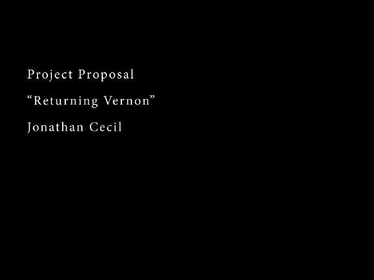 Cecil Proposal