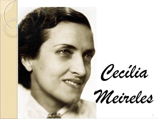 Cecília Meireles 1