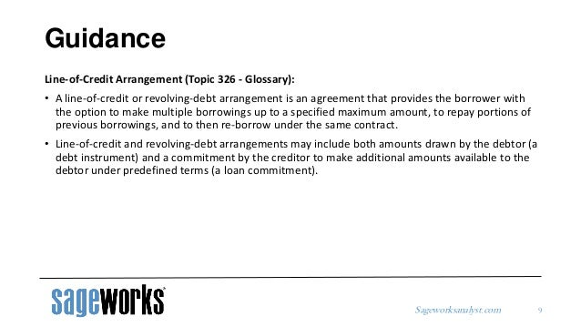 Cecl Methodology Series For Off Balance Sheet Credit Exposures