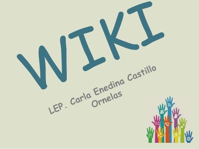¿En qué consiste elespíritu wiki?,El espíritu Wiki, como yo loentiendo, es toda aquello queinvolucra la funcionalidad deun...