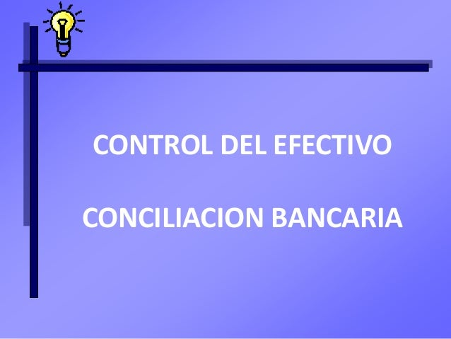 control del efectivo