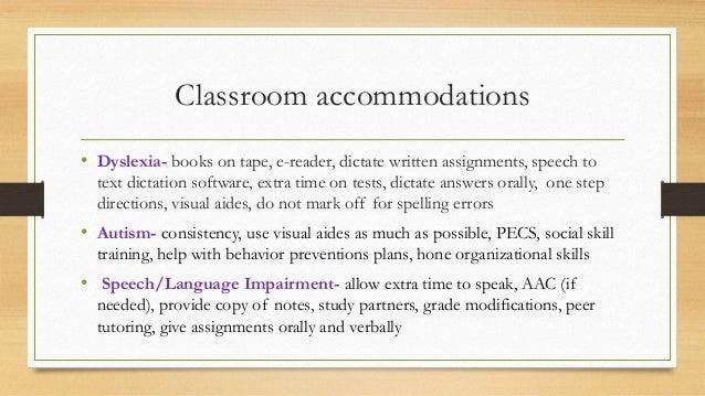 disability  accomodations presentation