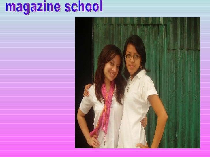 . magazine school