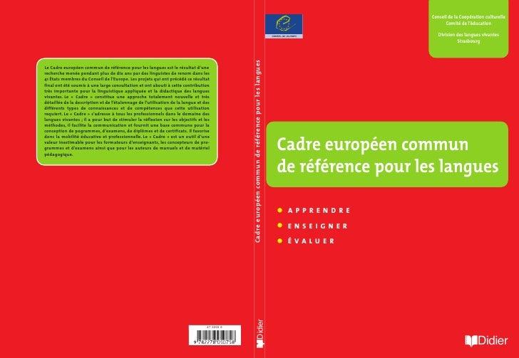 Conseil de la Coopération culturelle                          Comité de l'éducation                       Division des lan...