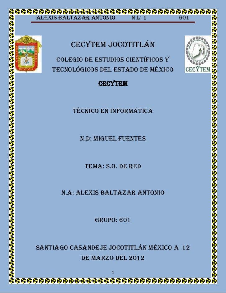 Alexis Baltazar Antonio       n.l: 1     601          Cecytem jocotitlán     Colegio de estudios científicos y    tecnológ...
