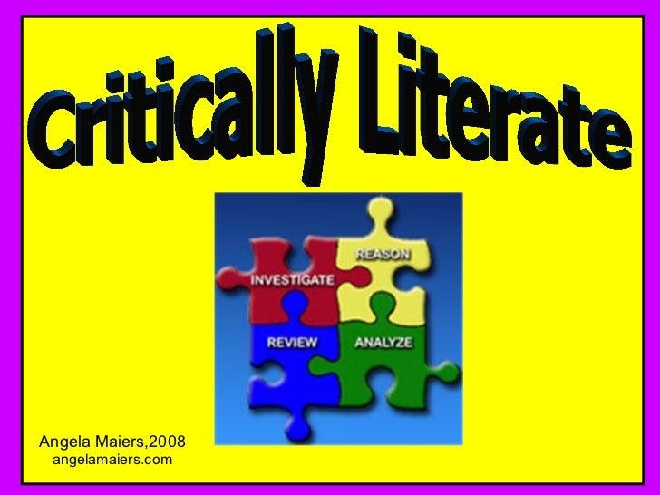 Literacy essays
