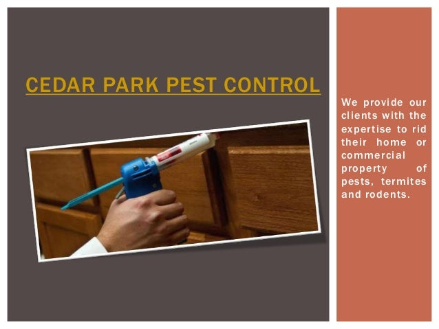 We provide our  cl ients wi th the  exper tise to rid  their home or  commercial  proper ty of  pests, termi tes  and rode...