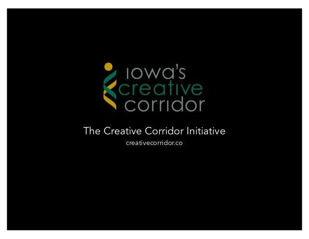 The Creative Corridor Initiative         creativecorridor.co