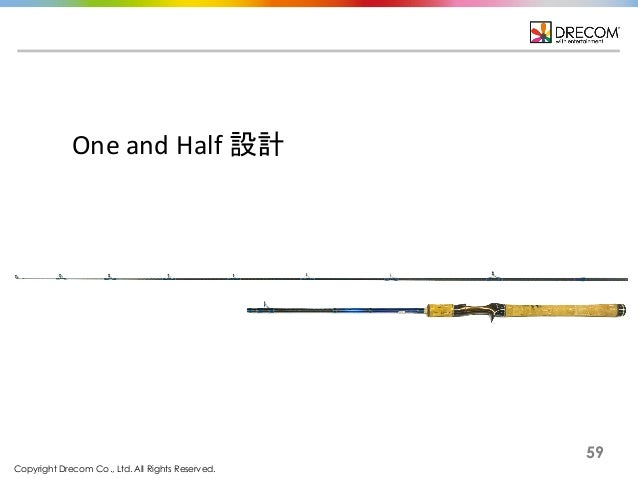 Copyright Drecom Co., Ltd. All Rights Reserved. 59 One  and  Half  設計