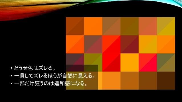 XYZは、色ごとの偏りが大きい。 XYZ sRGB