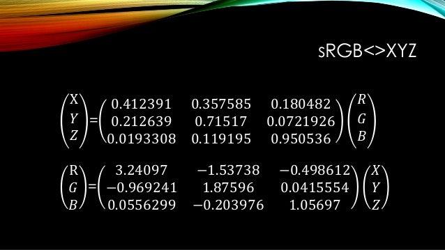 """リニアとトーンカーブ • sRGBのテレビは、信号を非線形に補正する特性がある。 • この非線形な補正を """"トーンカーブ"""" / EOTF と呼ぶ。"""