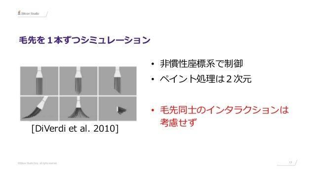 手描き感を再現するペイントシミュレータの最新研究紹介