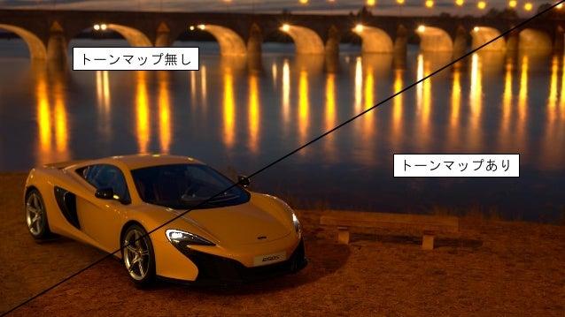 現実のカメラに立ち返る • ゲームの出力画像は、基本的にはカメラのシミュレート • では、現実のカメラではこういう部分はどうなっている?
