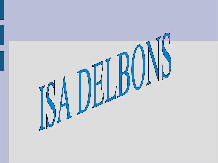 ISA DELBONS
