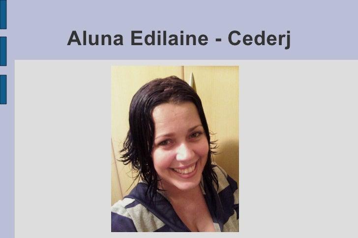 Aluna Edilaine - Cederj