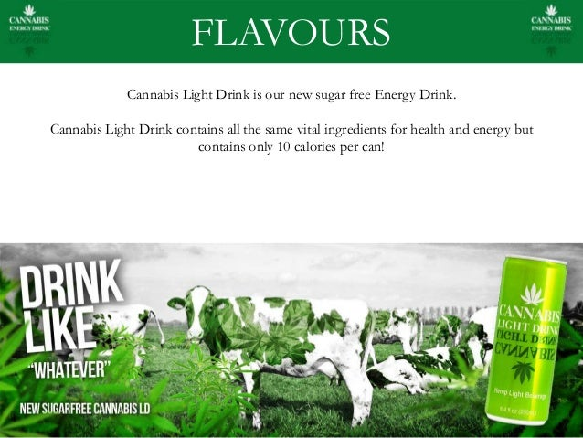 5. FLAVOURS Cannabis Light Drink ...
