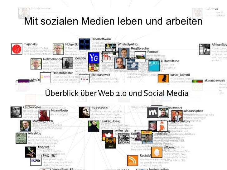 Mit sozialen Medien leben und arbeiten    Überblick über Web 2.0 und Social Media