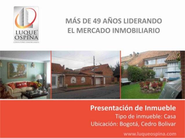 Ubicación del InmuebleBarrio: cedro BolivarCalle 138Autopista NorteAv. Carrera 19Zona deUbicaciónde InmuebleCalle 153