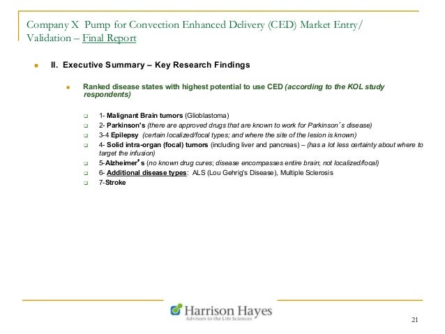 report market entry Delayed market entry of generic medicines the preliminary report emphasises that patents are key in the pharmaceutical sector, as.
