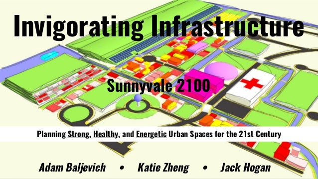Invigorating Infrastructure Sunnyvale 2100 Adam Baljevich • Katie Zheng • Jack Hogan Planning Strong, Healthy, and Energet...