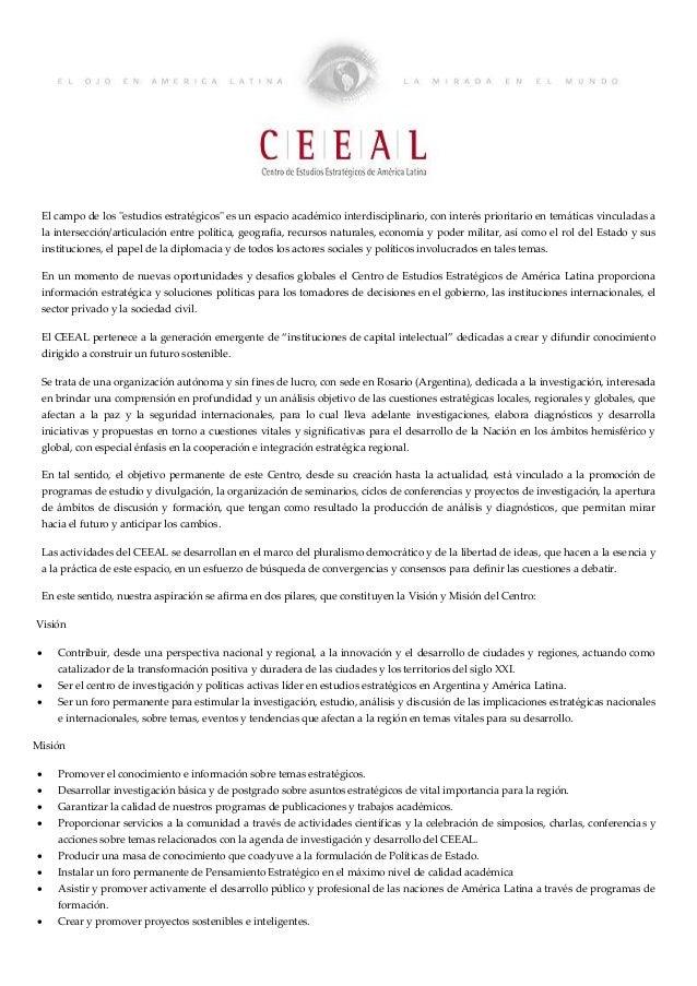 Ceeal vision mission english version   spanish version - draft Slide 2