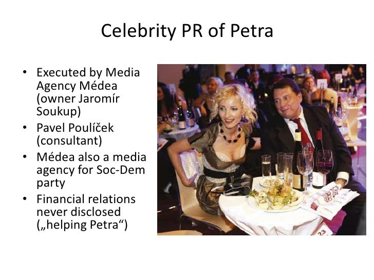 The publicity of private lives by the media today