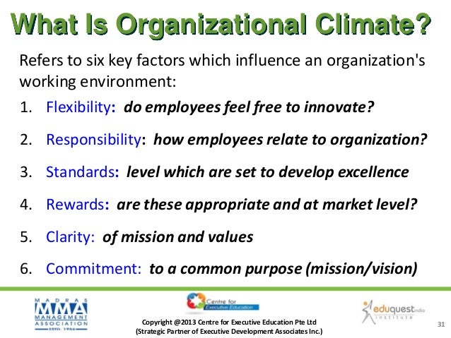 six factors that influence organisational structure re size environment etc Critical success factors the values of an organization, its target market etc will all impact the csf's that are environmental factors critical success.