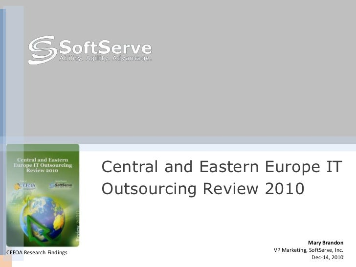 Central and Eastern Europe IT                          Outsourcing Review 2010                                            ...
