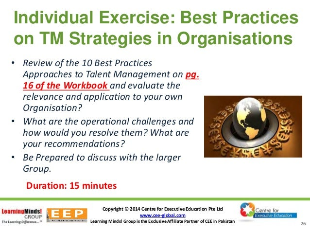 effective approaches to meet the talent management challenges in future