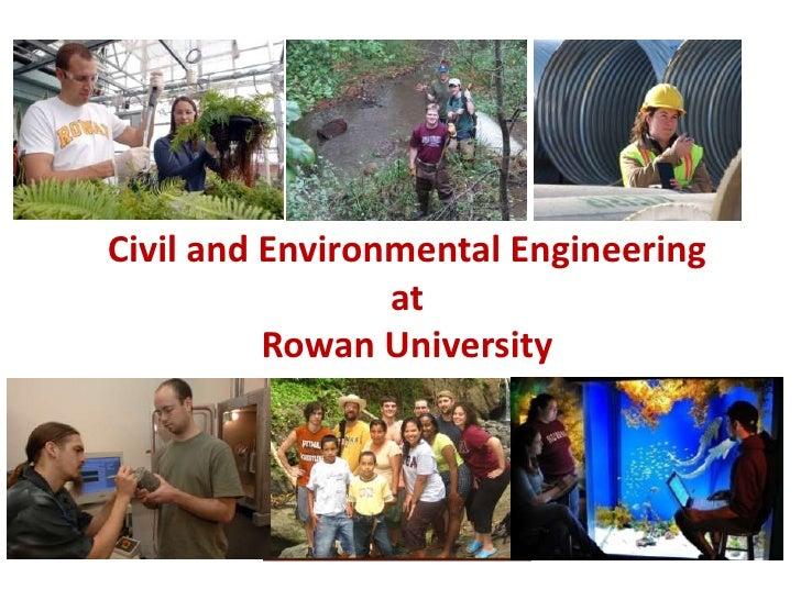Civil and Environmental Engineering                  at           Rowan University