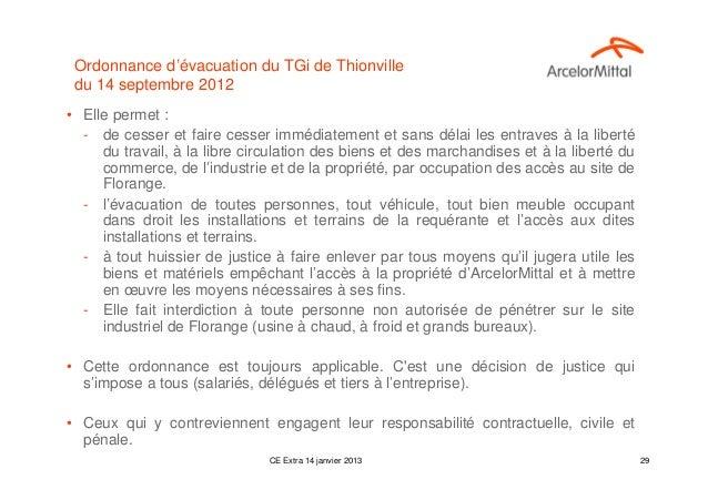 Ordonnance d'évacuation du TGi de Thionville du 14 septembre 2012• Elle permet :  - de cesser et faire cesser immédiatemen...