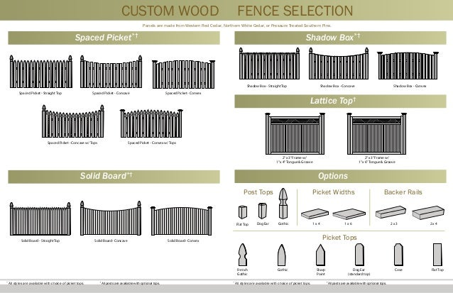 Snk Fence Wood Fencing Catalog Home Improvement