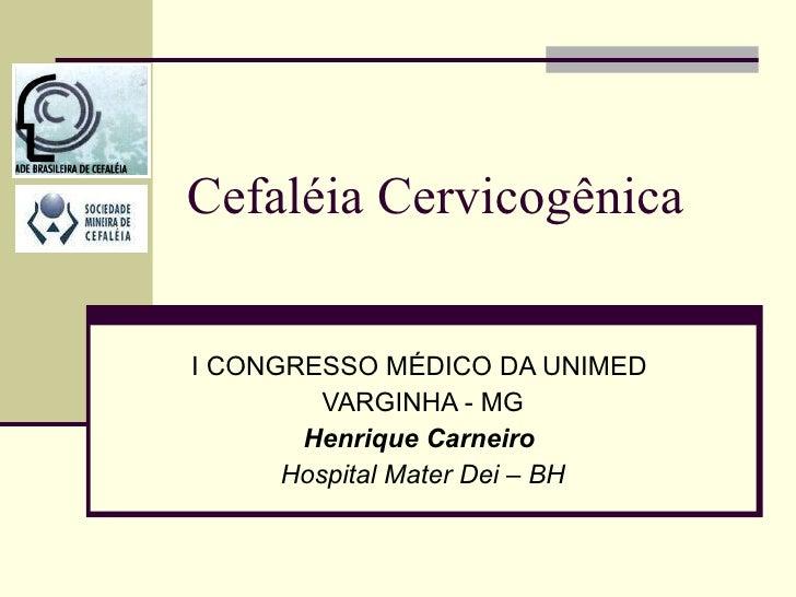 Cefaléia cervicogênica