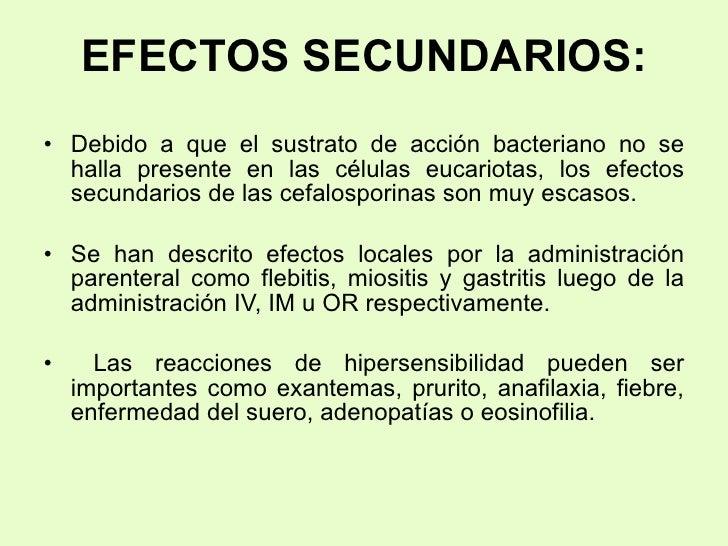 Efectos secundarios de la cuajada