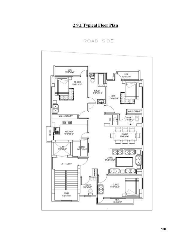 VIII 2.9.1 Typical Floor Plan