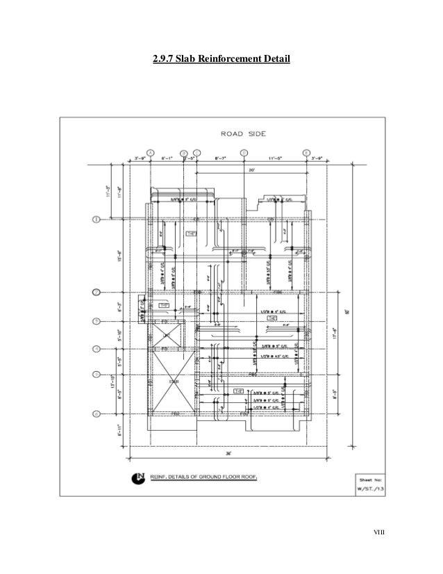 VIII 2.9.7 Slab Reinforcement Detail