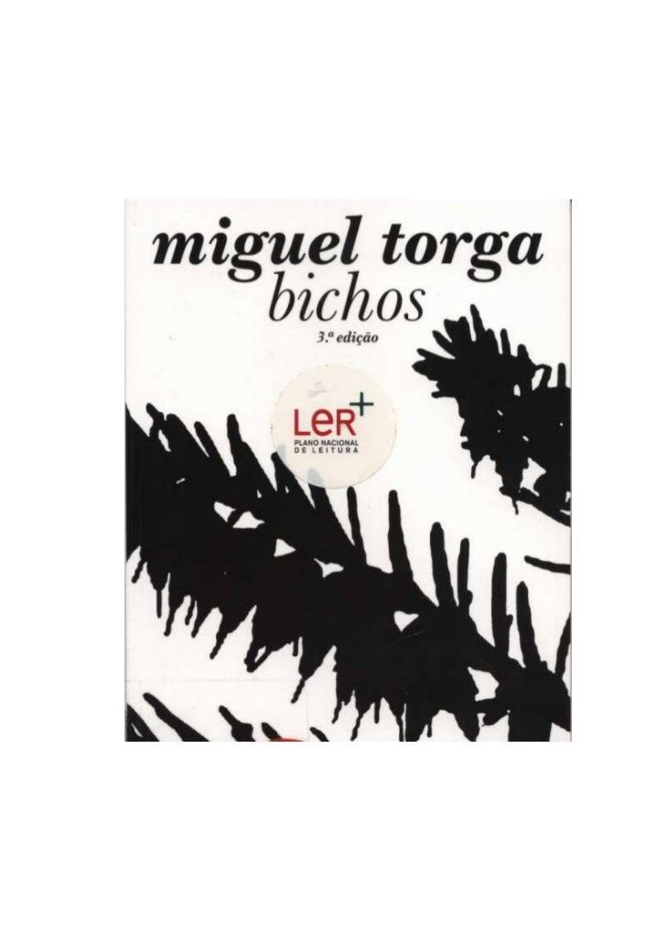 """""""Cegarrega"""" -  Miguel Torga  in Bichos"""