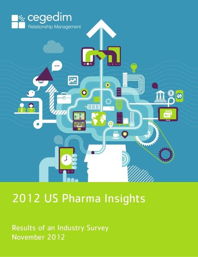 2012 US Pharma InsightsResults of an Industry SurveyNovember 2012