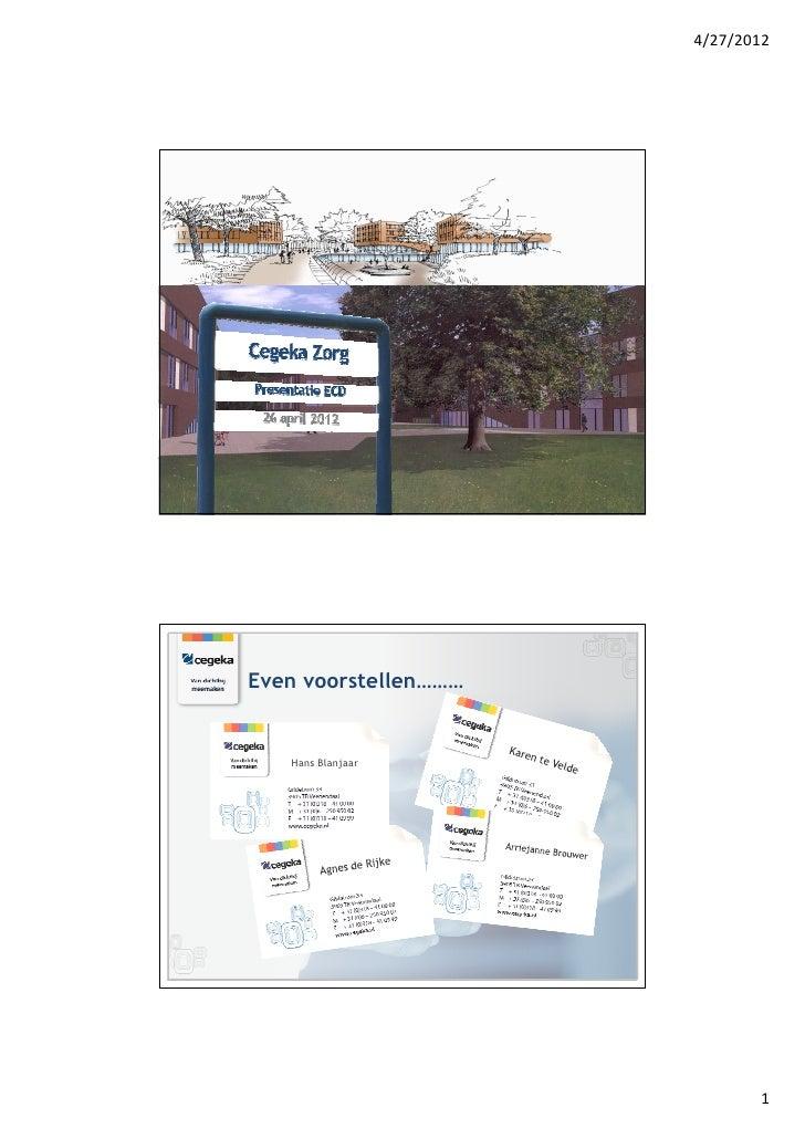4/27/2012Even voorstellen………   Hans Blanjaar                             1