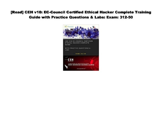 Certified Ethical Hacker Pdf