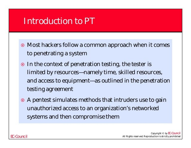 context penetration testing