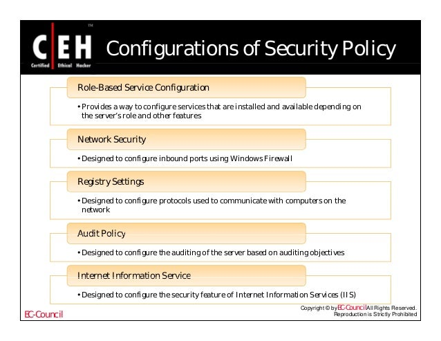 creating an information security policy About cyber security training sans institute  security policy roadmap - process for creating security policies information is an important business asset and is valuable to an organization thus, it needs to be protected to ensure its confidentiality, integrity and availability  written and implemented security policy is improved.