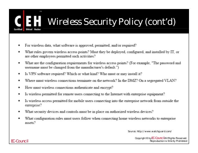 Ce hv6 module 49 creating security policies