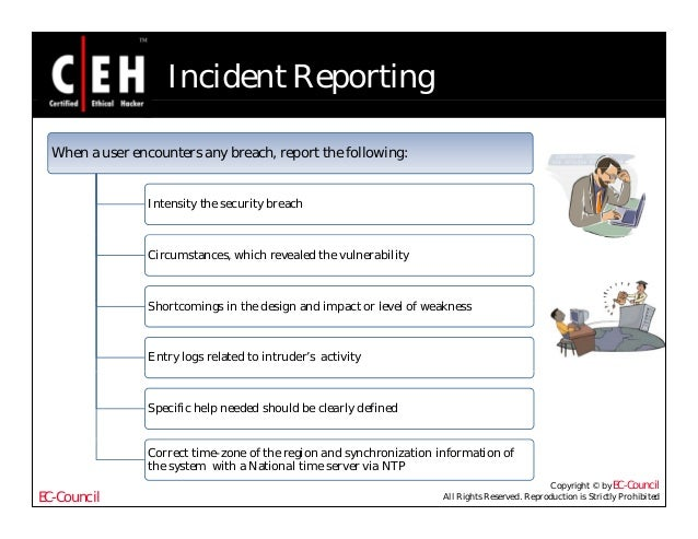Ce hv6 module 57 computer forensics and incident handling