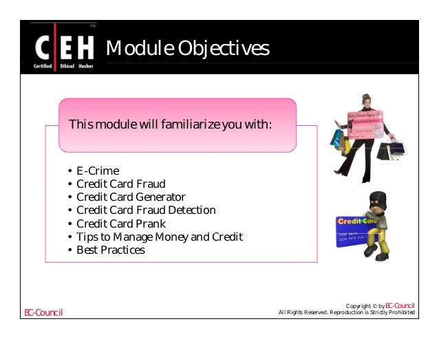 Ce hv6 module 58 credit card frauds