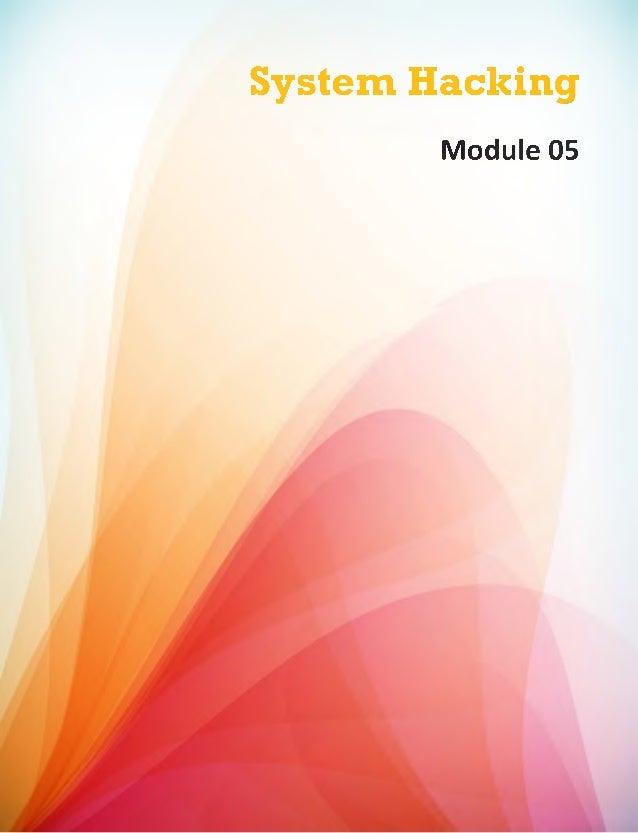 System Hacking Module 05