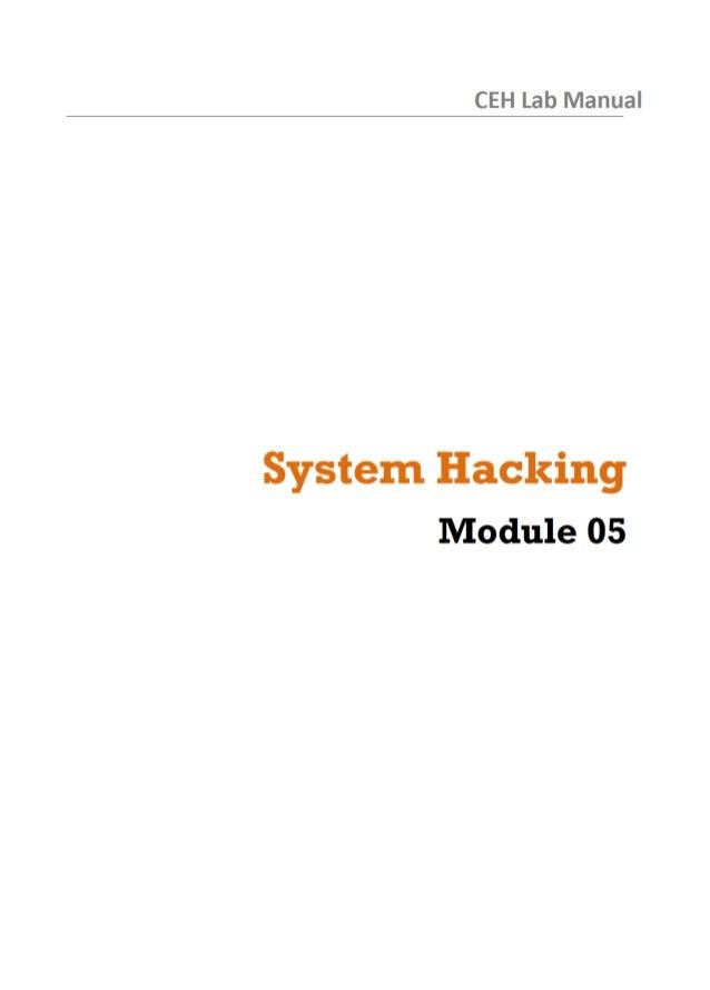 cehv8 labs module 05 system hacking ceh v9 lab manual pdf ceh v10 lab manual